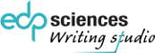 EDP Sciences - Writing studio